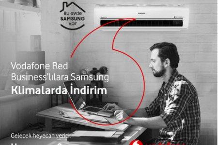 Samsung Klimalarda Vodafone Red Business'lılara Özel Kampanya!